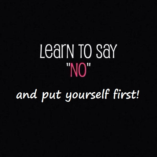 learn to say no and put yourself first giselle belanger